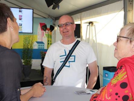 Peter Blom. Almedalen 2017