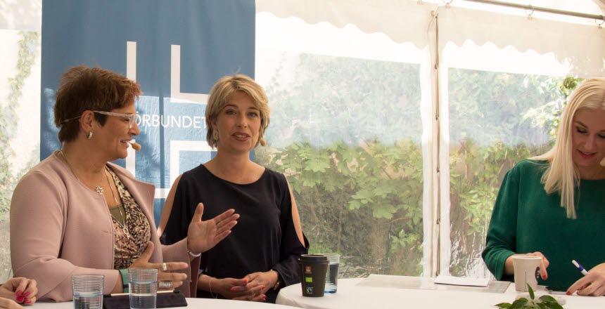 Politiker Annika Strandhäll för socialdemokraterna