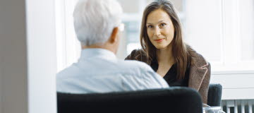samtal mellan man och kvinna