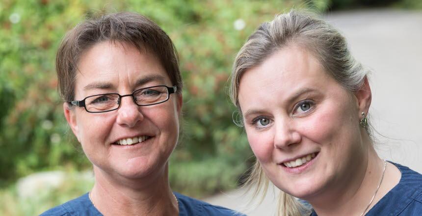 Elin Nilsson och Madeleine Nilsson, nominerade till Vårdförbundspriset 2017