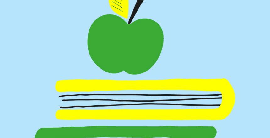 Et rött äpple