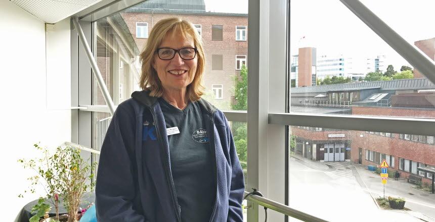Helena Bergius, vårdenhetschef på SAHB