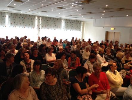 föreläsning i Sundsvall 160516; publiken