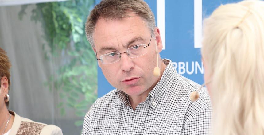 Politiker Anders Åkesson för Miljöpartiet