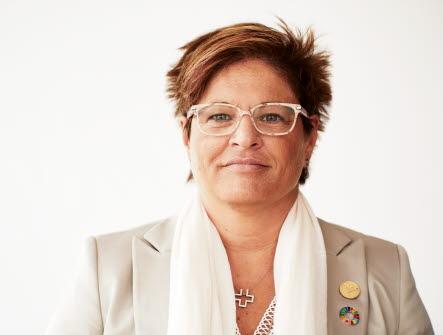 Porträttbild på Sineva Ribeirio, förbundsordförande
