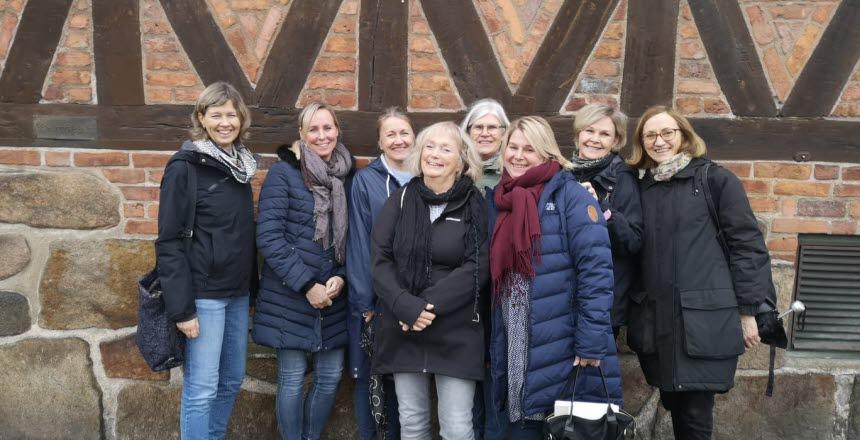 Val av förtroendevald för Kvinnohälsovården i Halmstad. Vi träffades på värdshuset Tre Hjärtan