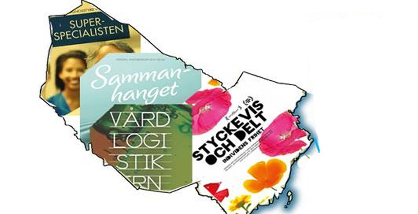 Västerbottens län med Vårdförbundets politiska skrifter