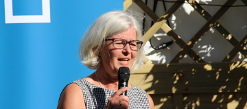 Ann Johansson talar