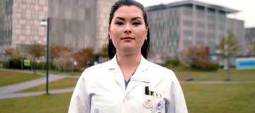 Sophia Godau, medlem i Vårdförbundet